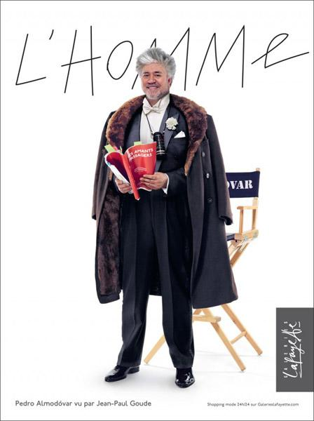 Almodovar, the new image of Galeries Lafayette