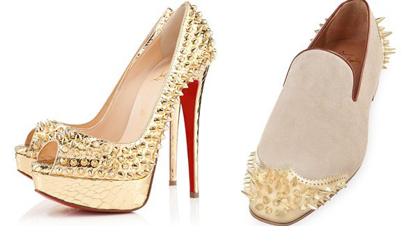 Lady Peep Spikes and Ironito Shoes by Christian Louboutin