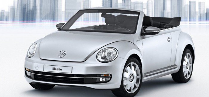 Volkswagen and Apple Unveil the New iBeetle Concept