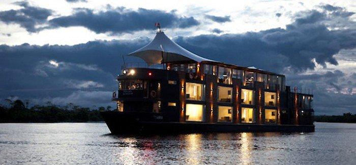 Luxury boat hotel
