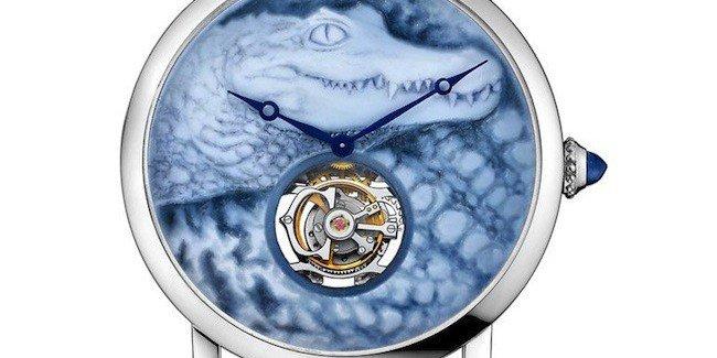 Surprises with Crocodile Cartier Watch
