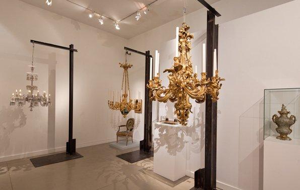 Avignon, the Mathieu Lighting illuminates the Vouland Museum
