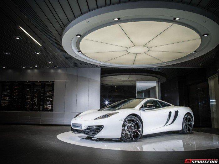 Awesome McLaren 12C B&W