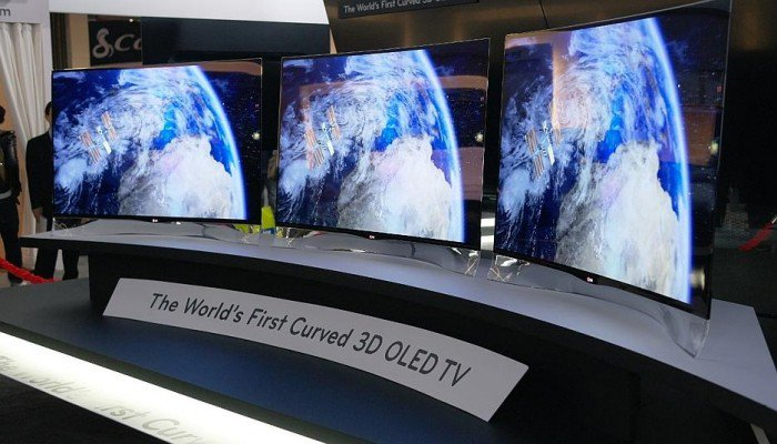 The New Curved OLED HDTV from Samsung