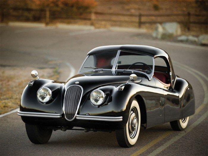 Vintage Jaguar XK120 Roadster for Auction