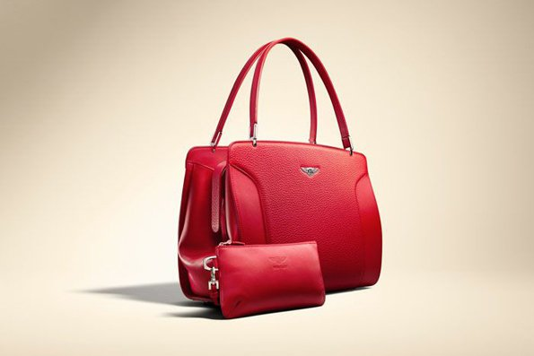 Leather goods line by Bentley
