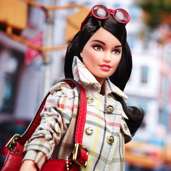Barbie, a fashion victim by Coach