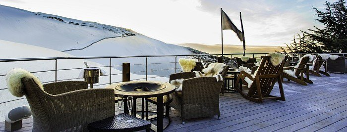THE LODGE, the most exclusive resort of Sierra Nevada