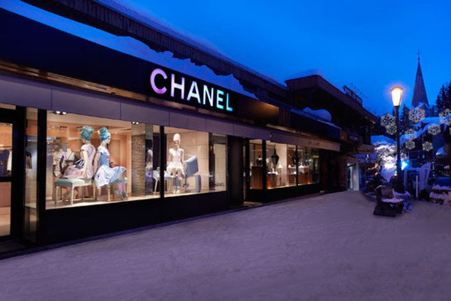 Chanel Pop-Up Store in Courchevel