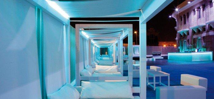 Bombay Beach restaurant terrace