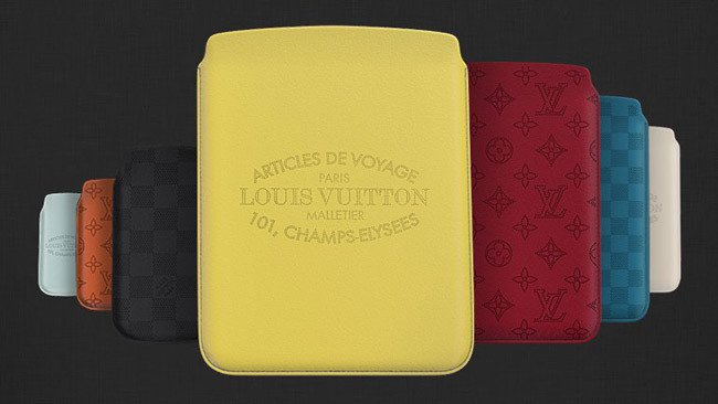 Louis Vuitton exclusive cases for iPhone, iPad, and iPad Mini