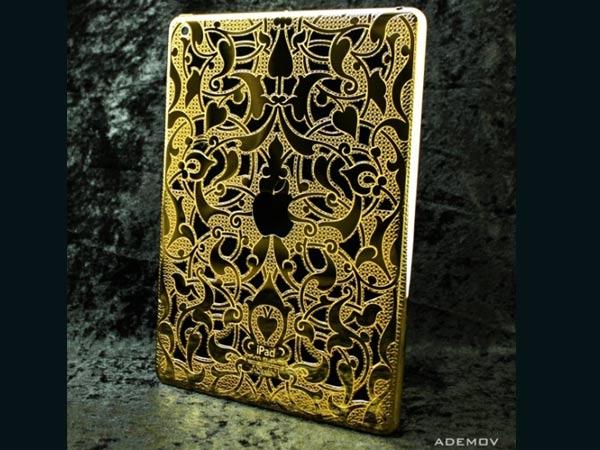 Lavish 24k Gold Plated iPad Air by Ademov