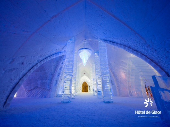 The Hôtel de Glace in Quebec will reopen its doors in January