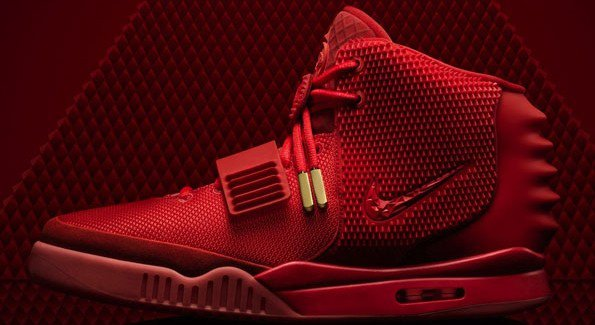 NIKE air yeezy 2 Red october designed by Kanye West
