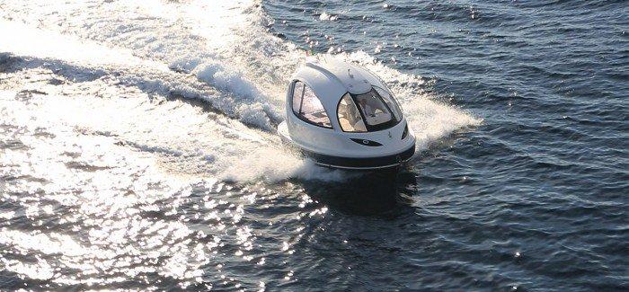 Capsule water boats