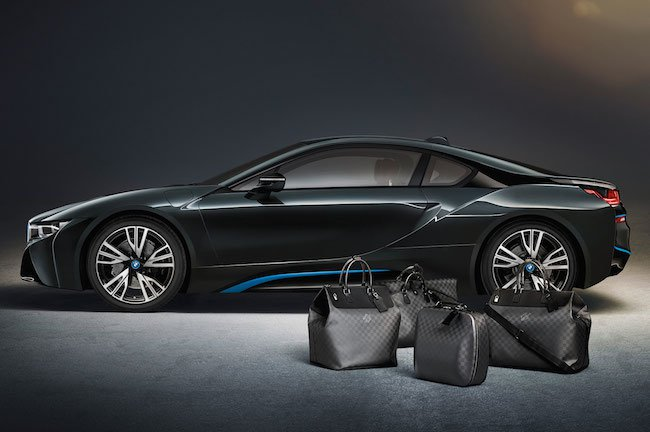 Louis Vuitton and BMW created a special collection of bags