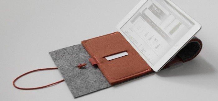 Felt Case iPad Mini case by Cloud&Co for 11+