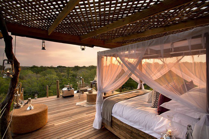 The Lion Sands Game Reserve