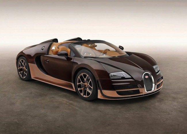 Bugatti Veyron 16.4 Grand Sport Vitesse Rembrandt Bugatti edition