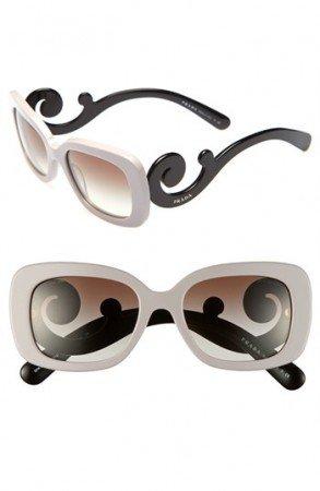 Luxuryretail_Prada-Two-Tone-Minimal-Baroque-Sunglasses