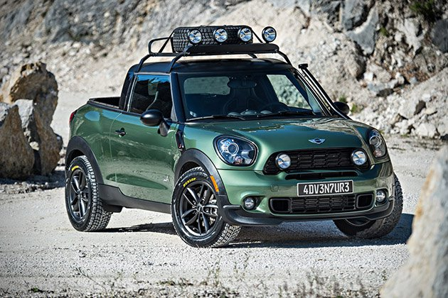 Paceman Adventure Pickup Truck By MINI