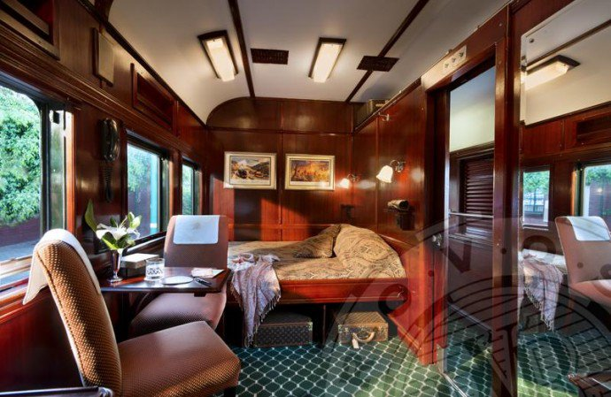 The Rovos Rail, travelling by train has own charm