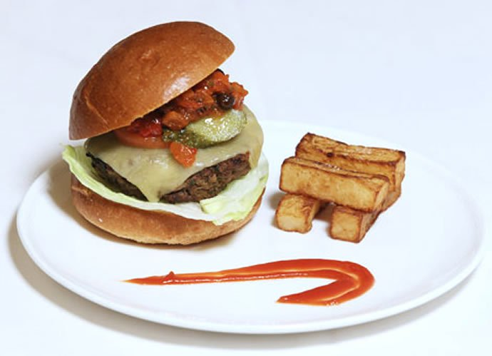The Flying burger, by British Airways