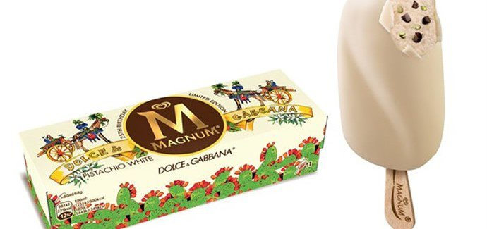 Magnum with Dolce and Gabbana