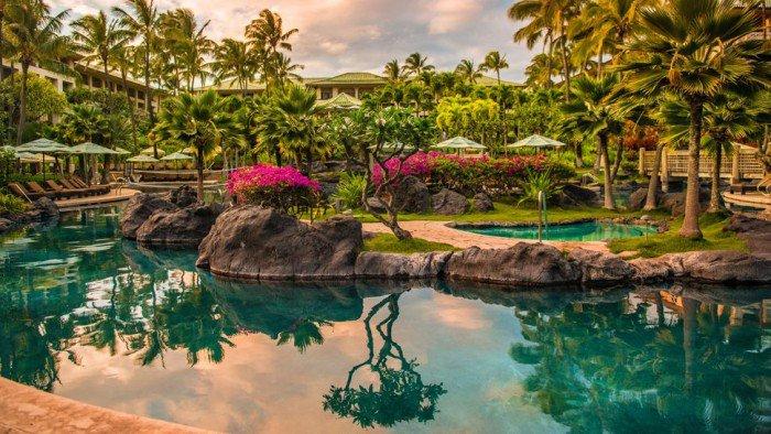 Dreamy Grand Hyatt Kauai Resort and Spa In Hawaii