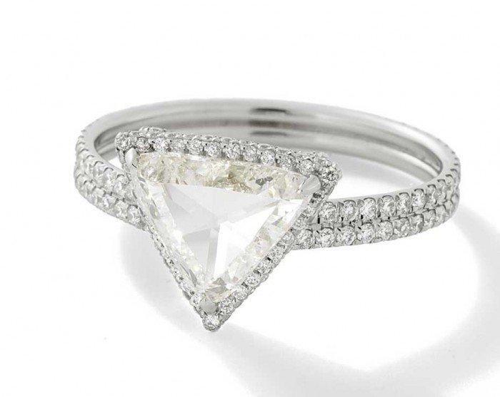 Mineraux Engagement Rings Collection By Monique Péan