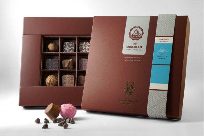 """The chocolate """"Principe delle nevi"""""""