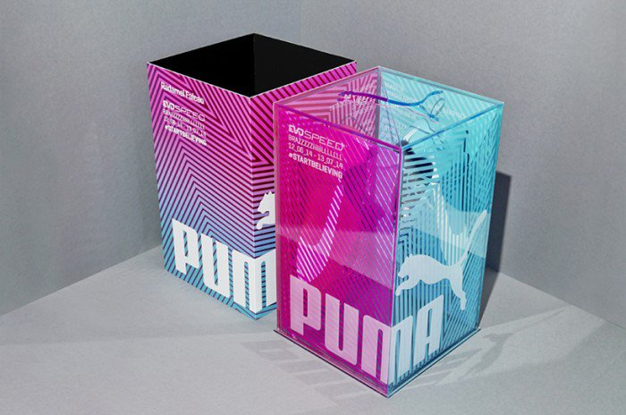 PUMA tricks collection packaging by everyone