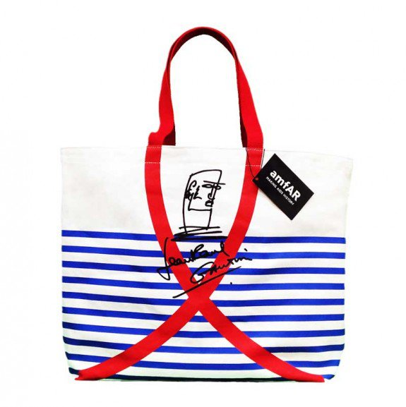 Limited Edition Jean-Paul Gaultier Tote Bag for amfAR