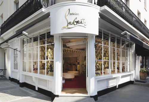 Christian Louboutin reopens first London store