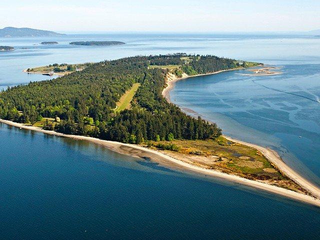 James Island, private island