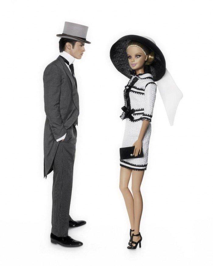 Karl Lagerfeld Barbie dresses