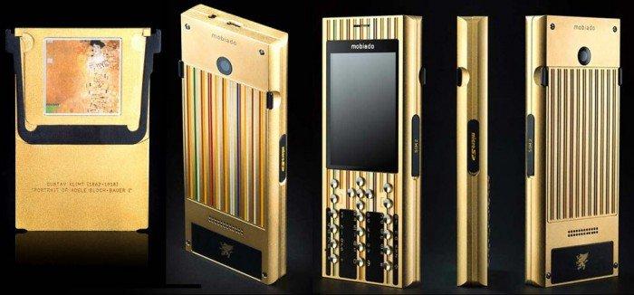 Mobiado Dedicates its 3rd Art Edition Phone to Gustav Klimt
