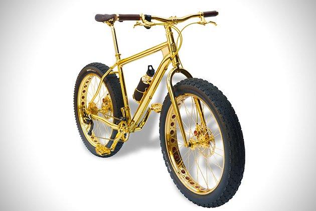 Lavish 24K Gold Mountain Bike
