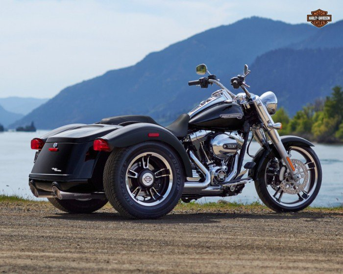 Harley-Davidson's 2015 Freewheeler Trike