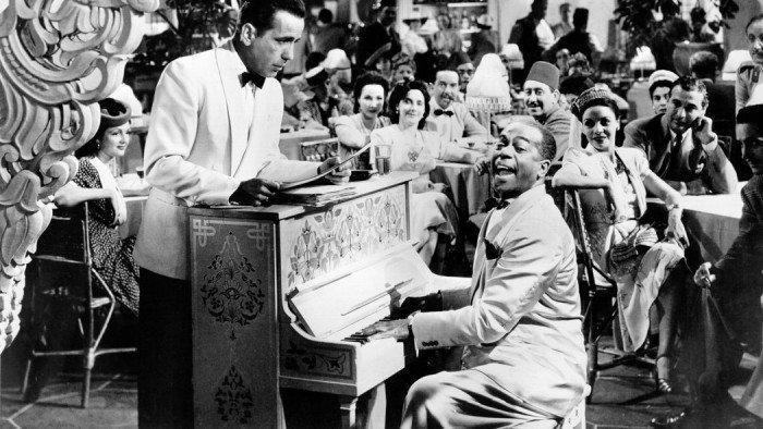 Piano from film 'Casablanca'