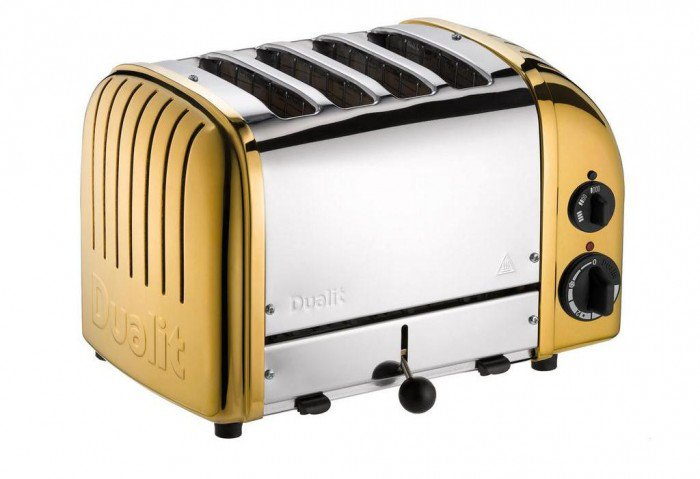 Dualit's Lavish 24-Carat Gold Plated Classic Toaster
