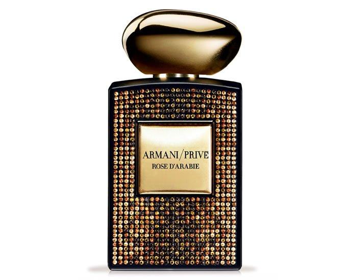 Swarovski limited edition of the Armani prive Rose D'Arabie
