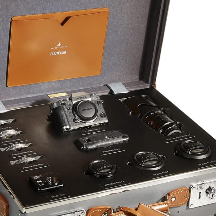 Fujifilm X T1gs Globe Trotter Kit Luxury Retail
