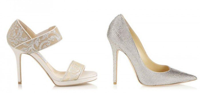 Jimmy Choo's Made-To-Order Bridal Collection