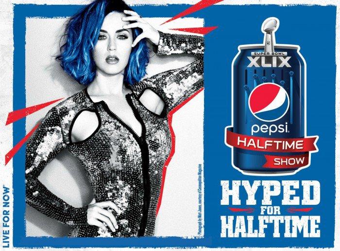 Katy Perry Queen of Pop Super Bowl 2015