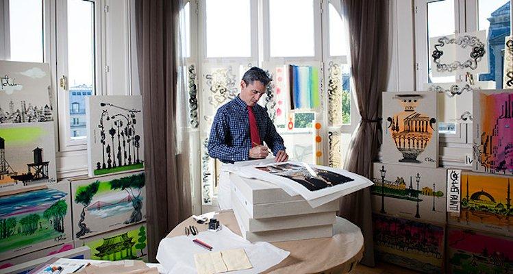 Luxuryretail_Ruben-Toledo-special-edition-cards-Louis-Vuitton