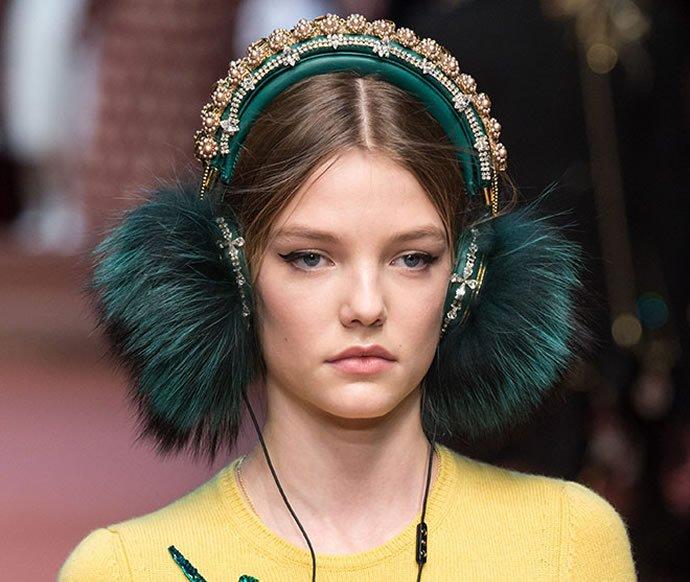 The crystal-encrusted D&G headphones