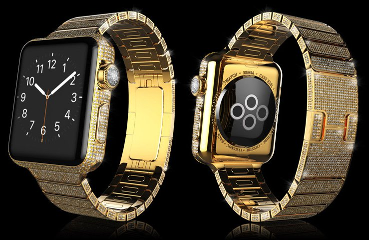 Luxuryretail_Apple-Watch-Spectrum-Collection-crystals-diamonds
