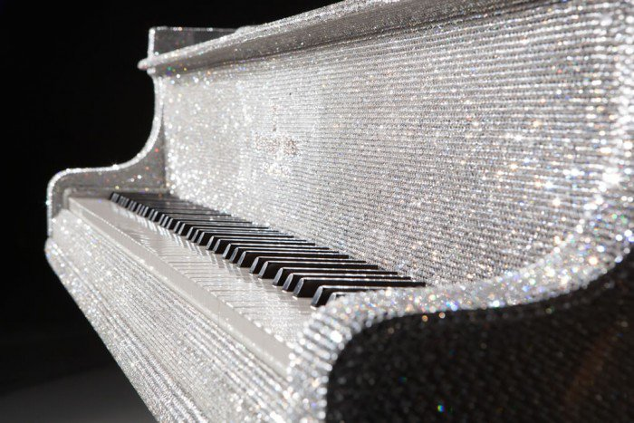 The world's most luxurious piano