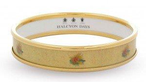 Luxuryretail_halcyon-days-YELLOW-SUNFLOWERS-BANGLE